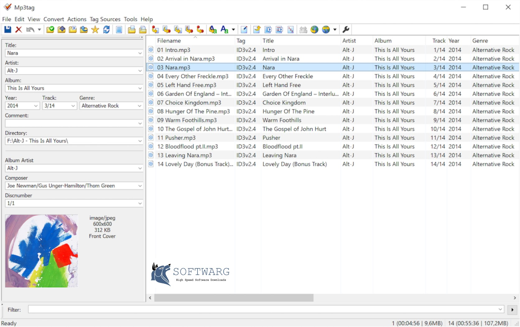 Download Mp3tag 2019 free for PC