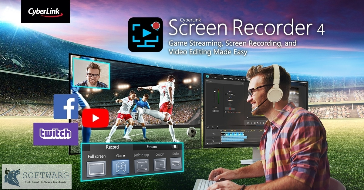 CyberLink Screen Recorder Deluxe 2020 v4.2 Free Download